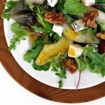 Insalata con agrumi e Yougurt