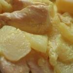 Spezzatino di pollo con le mele bimby