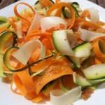 Nastri di verdure al sesamo bimby