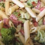 Sciambrotti (Penne broccoletti e pancetta ) Bimby