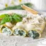 Cannelloni ricotta e spinaci Bimby