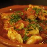 Scampi in salsa piccante Bimby