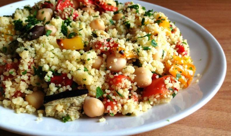 Cous-cous con triglie e verdure Bimby