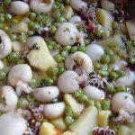 Seppioline con patate e piselli Bimby