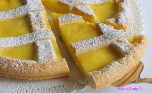 Nuova Ricetta Di Crostata Al Limone Bimby Ricette Bimby