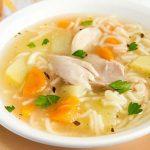 Il brodo di pollo è la medicina contro il raffreddore