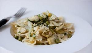 pasta-carciofi-piselli-bimby