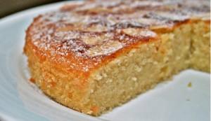 torta soffice con mandorle
