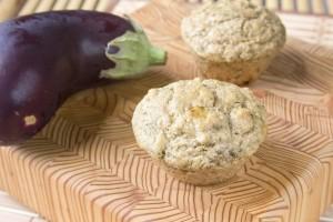 muffin con melanzane