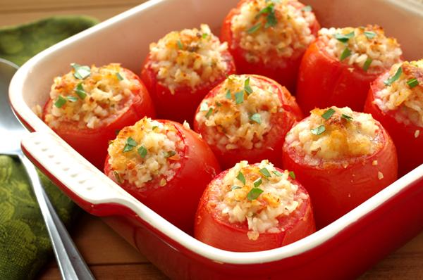 pomodori ripieni al riso bimby